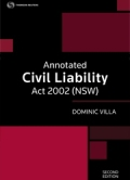 Annotated Civil Liability Act 2002 (NSW)