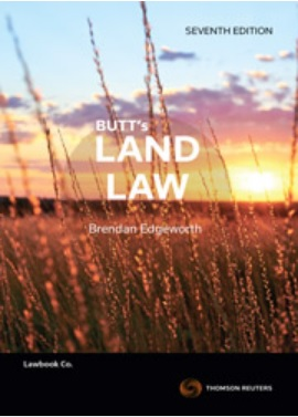 Butt's Land Law, 7th Edition