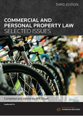 Commercial and Personal Property Law: Selected Issues, 3Ed