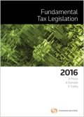 Fundamental Tax Legislation 2016