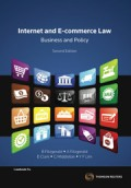 Internet & E-commerce Law, Business and Policy