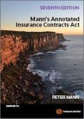 Mann's Annotated Insurance Contracts Act