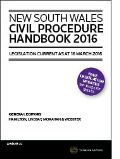 NSW Civil Procedure Handbook 2016