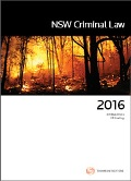 New South Wales Criminal Law 2016