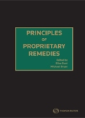 Principles of Proprietary Remedies