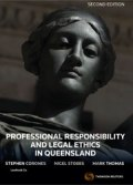 Professional Responsibility & Legal Ethics QLD