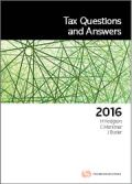 Tax Questions and Answers 2016