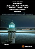 Winterton's Australian Federal Constitutional Law: Commentary & Materials