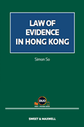 Law of Evidence in Hong Kong