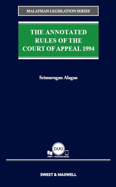 The Annotated Rules of the Court of Appeal 1994 (COMING SOON!)