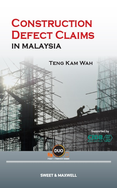 Construction Defect Claims in Malaysia (OUT NOW!)