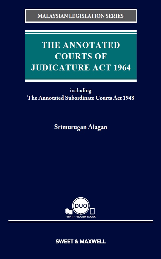 The Annotated Courts of Judicature Act 1964