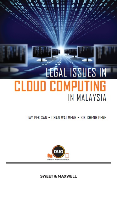 Legal Issues in Cloud Computing in Malaysia