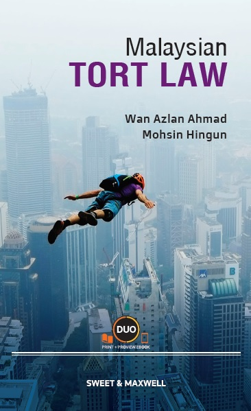 Malaysian Tort Law (OUT NOW!)