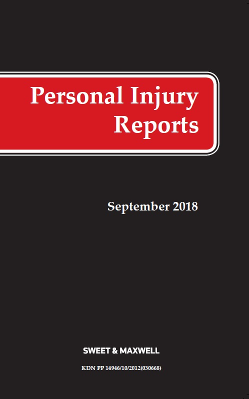 Personal Injury Reports 2021 Subscription (PIR)