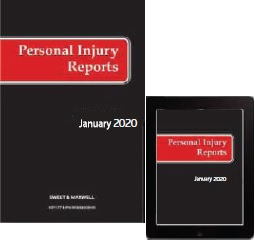 Personal Injury Reports 2020 Subscription (PIR)
