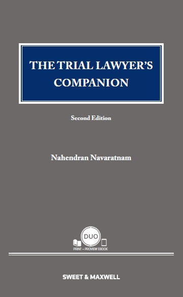 The Trial Lawyer's Companion