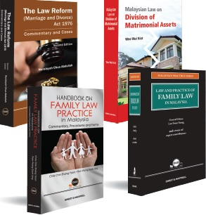 BUNDLE OFFER | Malaysian Family Law Suite (4 titles at Special Price)