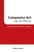 Companies Act (Cap. 50, 2006 Revised Ed.)