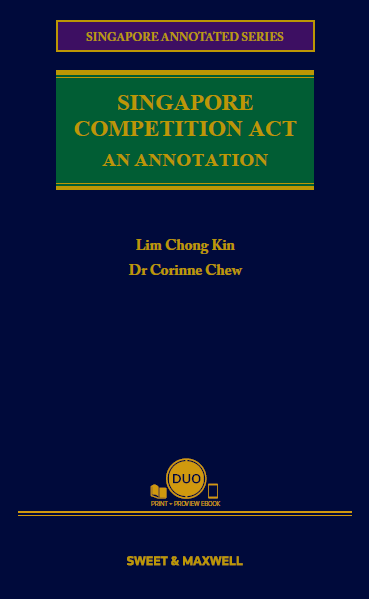 Singapore Competition Act Annotations