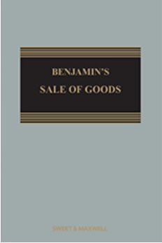 Benjamin's Sale of Goods, 10Ed (Mainwork & 2nd Supp)