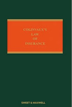 Colinvaux's Law of Insurance 12th Edition