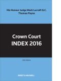 Crown Court Index 2016