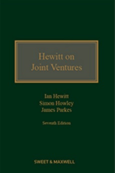 Hewitt on Joint Ventures 7th Edition