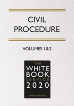 The White Book Service 2020, Volumes 1&2