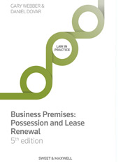 Business Premises: Possession and Lease Renewal